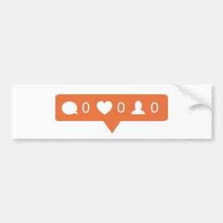 Instagram klistermärke