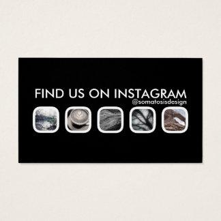 instagramnätverkande visitkort