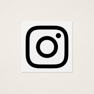 instagrampromo fyrkantigt visitkort
