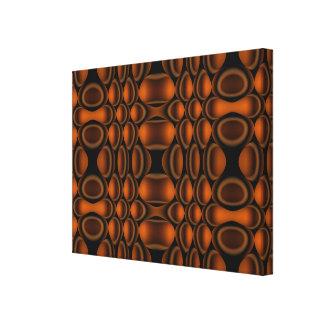 Inställd abstrakt för Op konst Canvastryck