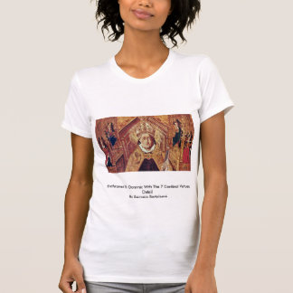 Installera St Dominic med de 7 huvudsakliga förtjä Tee Shirt