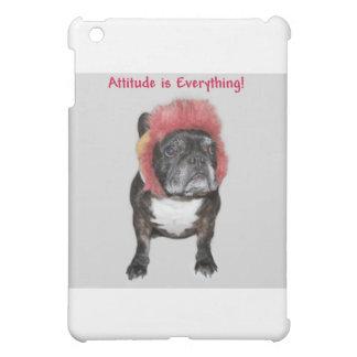 inställningen är allt den gulliga hunden iPad mini fodral