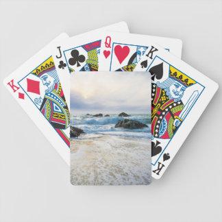Inställningssol och resningTide Spelkort