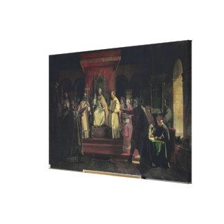 Institution av beställa av Templarsen Canvastryck