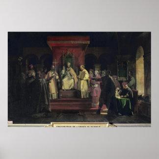Institution av beställa av Templarsen Poster