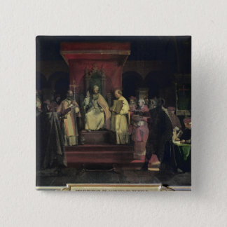 Institution av beställa av Templarsen Standard Kanpp Fyrkantig 5.1 Cm
