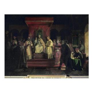 Institution av beställa av Templarsen Vykort