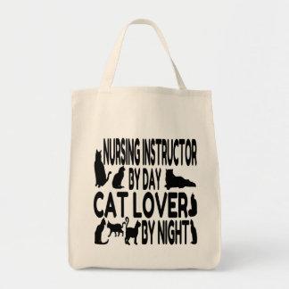 Instruktör för kattälskaresjukvård mat tygkasse
