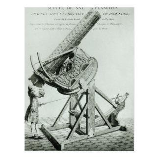 Instrumenterar d'optique vid Dom Noel Vykort