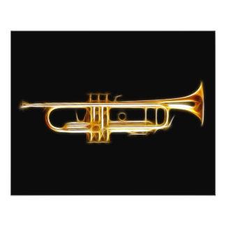 Instrumenterar musikalen för  reklamblad 11,5 x 14 cm