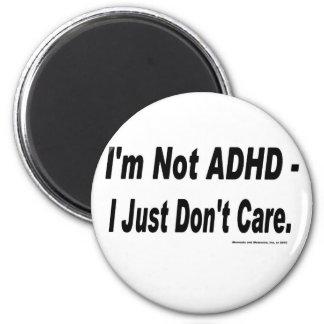 Inte ADHD Magnet Rund 5.7 Cm