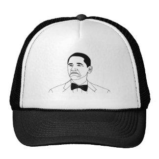 Inte ansikte Meme för dåligaBarack Obama ursinne Mesh Kepsar