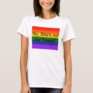 """Inte är hon inte min lesbiska Teeshirt """"för T Shirts"""