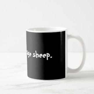 Inte dina genomsnittliga sheep. kaffemugg