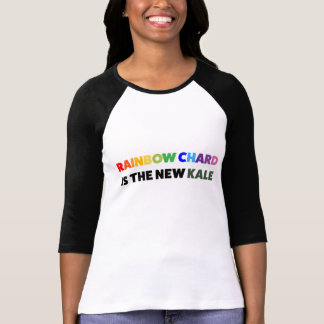 Inte en annan KaleT-tröja - regnbågeChardupplaga Tee Shirts