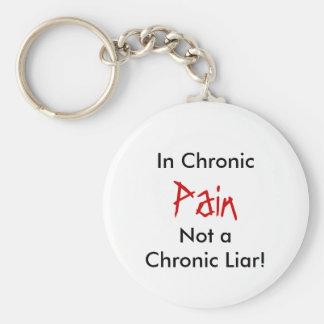 Inte en kronisk Liar! Smärta, i kroniskt Rund Nyckelring