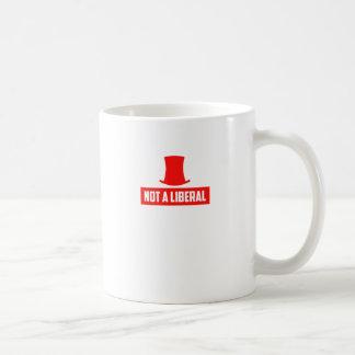 Inte en liberal person! kaffemugg