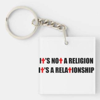 Inte en religion är det ett förhållande