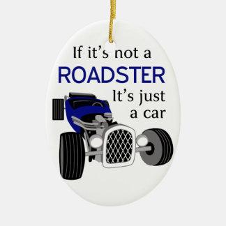Inte en Roadster Julgransprydnad Keramik