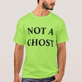 inte en spökeutslagsplats t-shirt