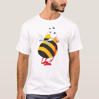 Inte gör den blyga skjortan för biet för småbarn tee shirt