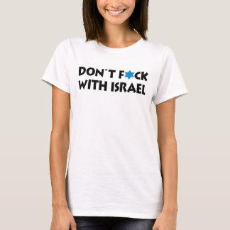 Inte gör F*ck med Israel - judisk pride T Shirts