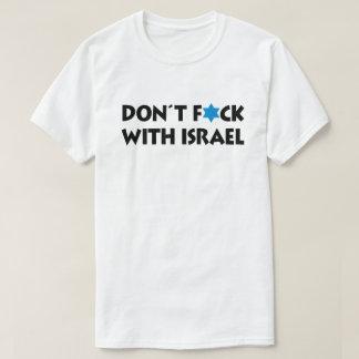 Inte gör F*ck med Israel - judisk pride Tee