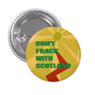 Inte gör Frack med det Skottland emblem Mini Knapp Rund 3.2 Cm