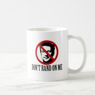 Inte gör randen på mig! vit mugg