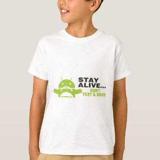 Inte gör text & drev t-shirt