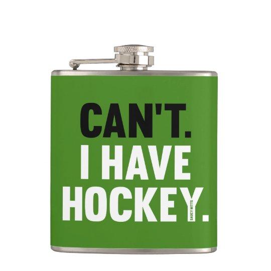 Inte kan jag ha rolig ursäktgrönt för hockey fickplunta