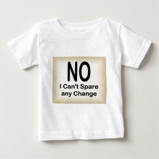 Inte kan jag inte avvara någon ändring tee shirt