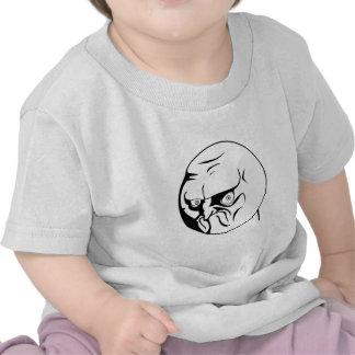 INTE! Komiska internet Meme för ursinne Tee Shirts