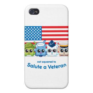 Inte kvadrerat för att salutera en veteran iPhone 4 skydd