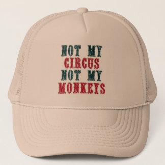 Inte min cirkus, inte min apabaseballmössa keps