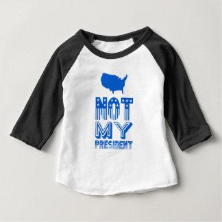 Inte min presidentAmerika blått T Shirt