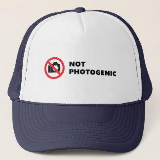 Inte Photogenic - fotografera inte undertecknar Keps