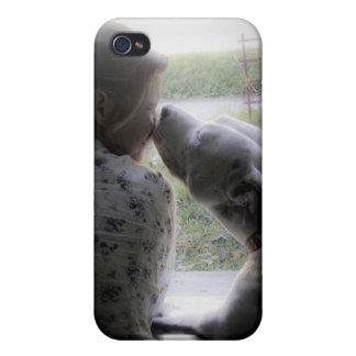 Inte precis en hund; Men en bästa väniphone case iPhone 4 Cover