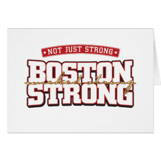 Inte precis starkt Boston starkt kort