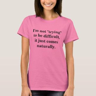 Inte pröva att vara svårt tröjor