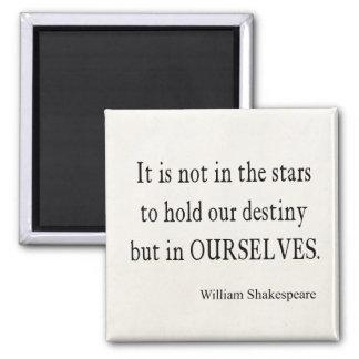 Inte stjärnaöde men oss själva Shakespeare Magnet