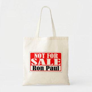Inte till salu Ron Paul hänger lös Tygkasse