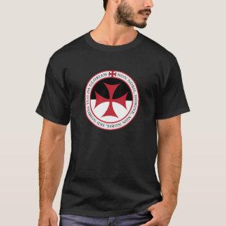 Inte Unto oss, nolla-Lord - Templar kor och Motto T Shirt