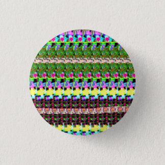 INTENSIV färg mönstrar mycket låg GÅVAluv för Mini Knapp Rund 3.2 Cm