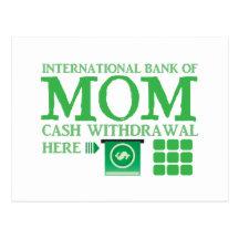International bank of MOM (cash withdrawal here)