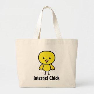Internetchick Jumbo Tygkasse