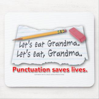 Interpunktion sparar liv musmatta