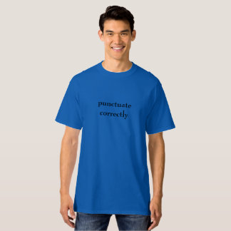 Interpunktion Tshirts