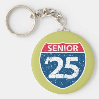 Interstate pensionär '25 Keychain Rund Nyckelring