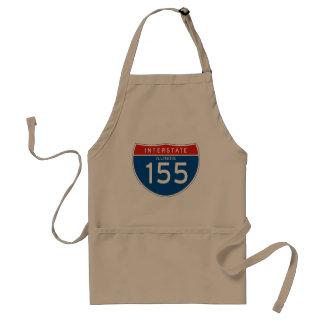 Interstate underteckna 155 - Illinois Förkläde